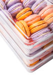 French Macarons Close Up View IV Stock Images