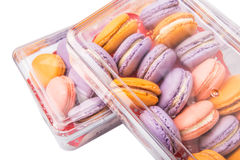 French Macarons Close Up View VI Royalty Free Stock Images