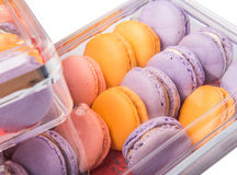 French Macarons Close Up View VIII Stock Photos