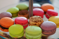 French Macarons royalty free stock image