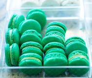 French macarons for sale Stock Photos