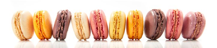 French Macarons - Sweet Cookies stock image