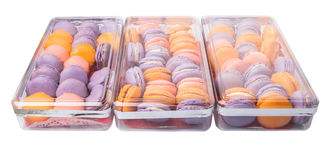 French Macarons V Stock Photography