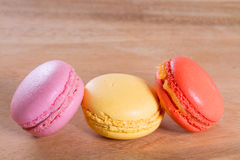 French macarons Stock Images