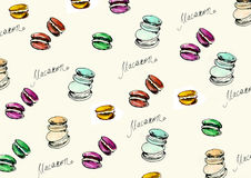 French macaroon Royalty Free Stock Images