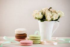 French macaroons Stock Image