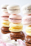 French Macaroons Stock Images