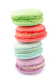 French macaroons Royalty Free Stock Images