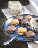 French macaroons. Stock Image
