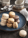 French macaroons. Stock Photo