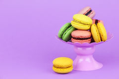 French macaroons Royalty Free Stock Photo