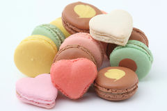 French macaroons .Dessert Royalty Free Stock Photos