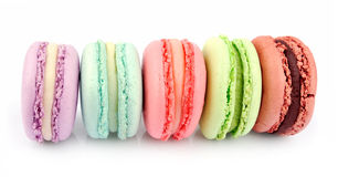 French macaroons . Stock Image