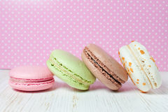 French macaroons .Dessert Royalty Free Stock Image