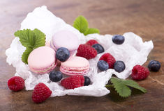 French macaroons .Dessert Stock Photo