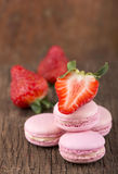 French macaroons .Dessert Royalty Free Stock Photo