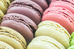 French macaroons or macaron. Royalty Free Stock Images