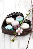 French macaroons Royalty Free Stock Image