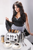 French maid Royalty Free Stock Image