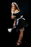 French Maid Royalty Free Stock Photos