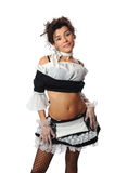 French maid Stock Photo