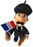 French man Royalty Free Stock Photography