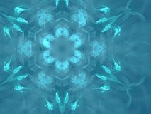 French mandala. 3D rendering, details best viewed full size (large file Stock Photos