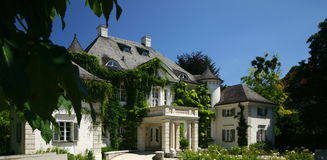 French Mansion Stock Images