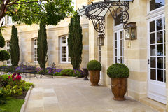 French mansion Stock Photography