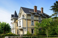 French mansion Royalty Free Stock Photography