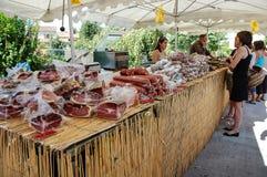 French market Royalty Free Stock Photo