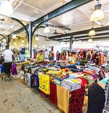 French Market on Decatur Street in New Orleans Stock Photo