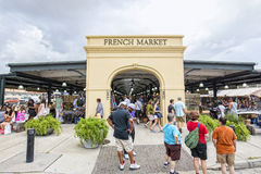 French Market, New Orleans Royalty Free Stock Image