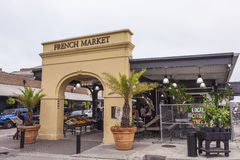French Market in New Orleans, Louisiana Stock Photo
