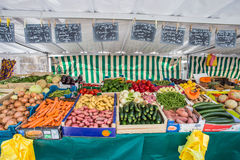 French Market in Paris Royalty Free Stock Photo