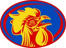 French mascot rooster cockerel Royalty Free Stock Images