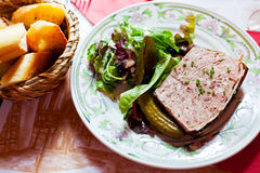 French meat pate Stock Image