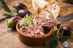 French Meat Spread Royalty Free Stock Photos