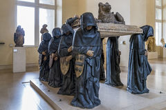 French medieval sculpture Royalty Free Stock Images