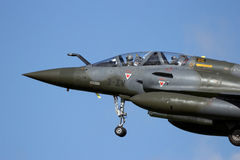 French Military Mirage 2000 fighter jet Royalty Free Stock Images