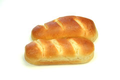 French milk bread. Pain-au-lait, bun Stock Photos