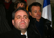 French minister's Xavier Bertrand Stock Photography