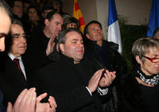 French minister's Xavier Bertrand Stock Photos