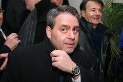 French minister's Xavier Bertrand Royalty Free Stock Photos