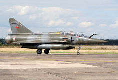 French Mirage fighterjet Royalty Free Stock Photo