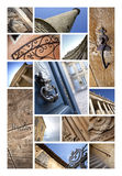French monuments and architecture Stock Photography