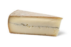 French Morbier cheese Stock Image