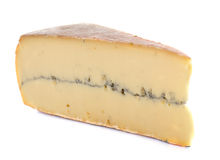 French morbier cheese Royalty Free Stock Photos