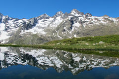 French Mountain Lake Stock Images