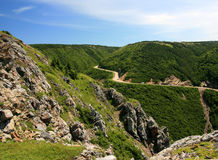 French Mountain in Nova Scotia Royalty Free Stock Image